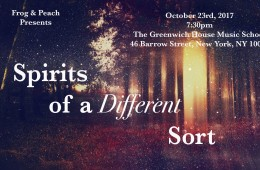 Spirits of a Different Sort -Gala Event